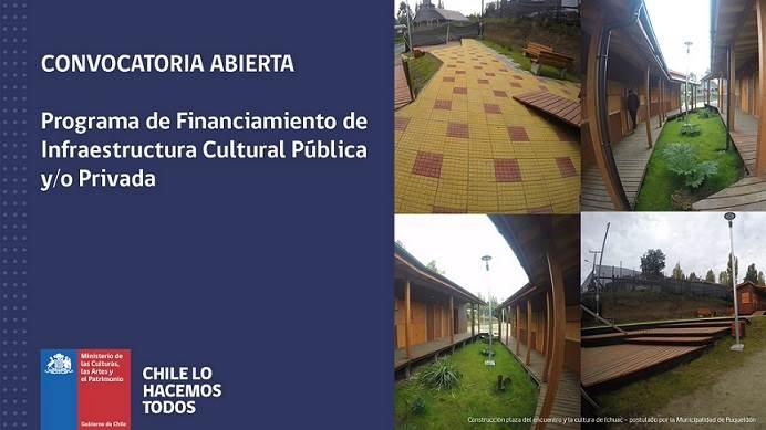 Programa de Financiamiento de Infraestructura Cultural Pública y/o Privada